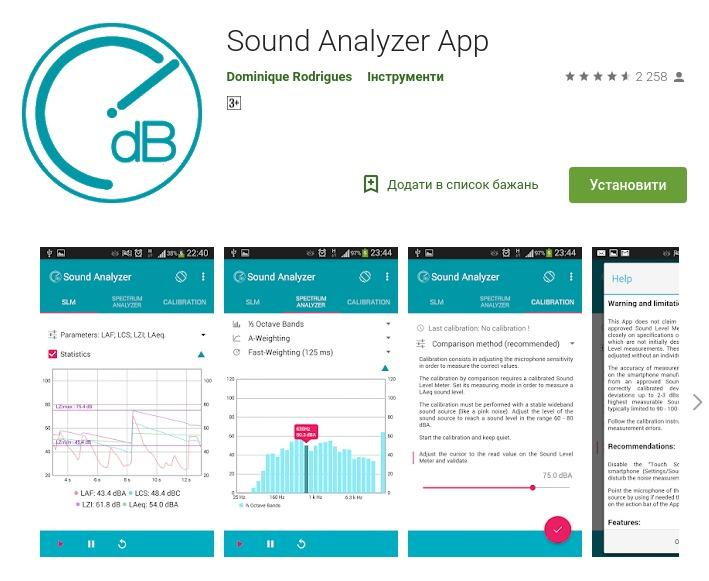 Sound Analyzer App